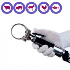 Cuchillo circular neumático 52 mm.   IBEX 620 por ejemplo para la eliminación de la médula espinal --