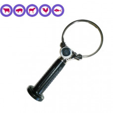 Cuchillo circular eléctrico 128 mm.  IBEX 1045 por ejemplo para el recorte de la grasa de cerdo---