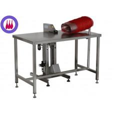 Enmalladora eléctrica manual de acero inoxidable QUICIAL HC-88 para todo tipo de embutidos, jamones y paletas*