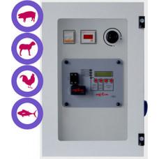 Aturdidor eléctrico 240V para cerdos, ovejas, conejos, aves y peces con registro de datos GOZLIN TEQ002*
