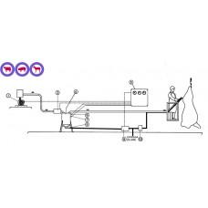 Equipo de vacio QUICIAL 01QUI095 para extracción de grasa / médula espinal --